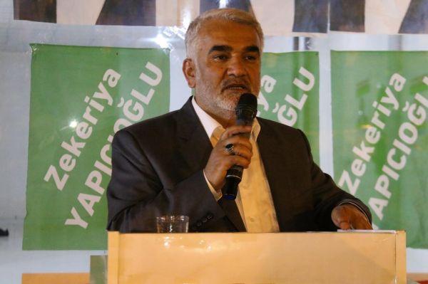 Yapıcıoğlu'nun seçim mitingi 22 Haziran'da