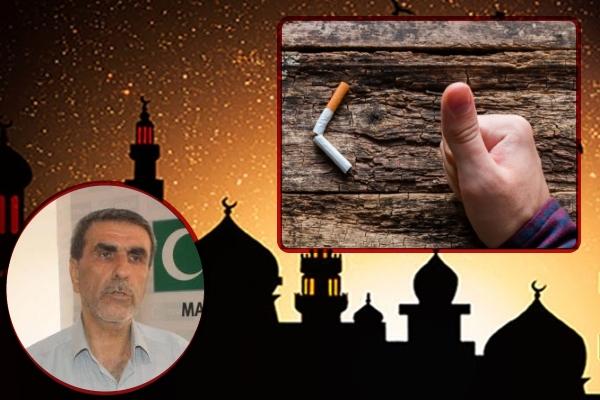 'Ramazan'da gösterilen sigara iradesini tüm yıla yayalım'