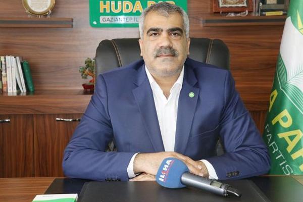 HÜDA PAR Genel Başkanı Yavuz Gaziantep`e geliyor