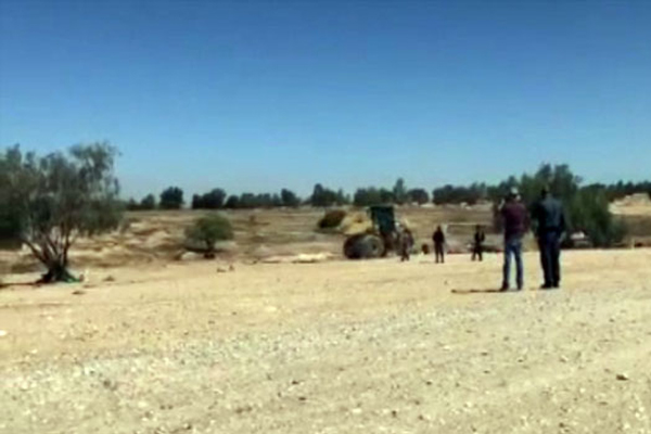 İşgalci israil, Arakib köyünü 130. kez yıktı