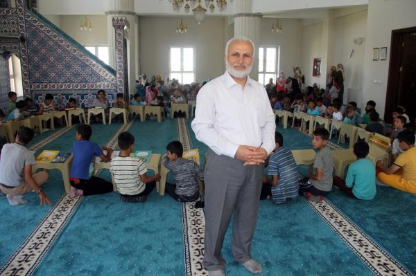 Ağrı`da camiler çocuk sesleri ile şenlendi