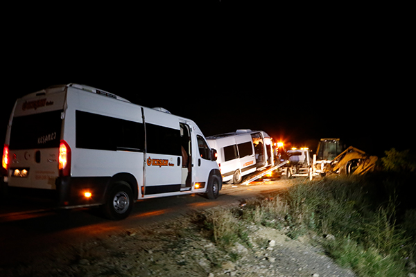 Tekirdağ`da trafik kazası: 3 yaralı