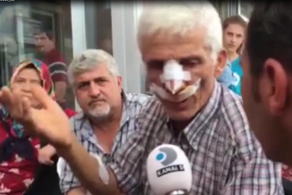 Kazada yaralanan Kahveci yaşadıklarını anlattı