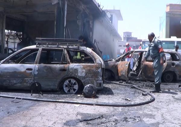 Afganistan`da intihar saldırısı: 10 ölü