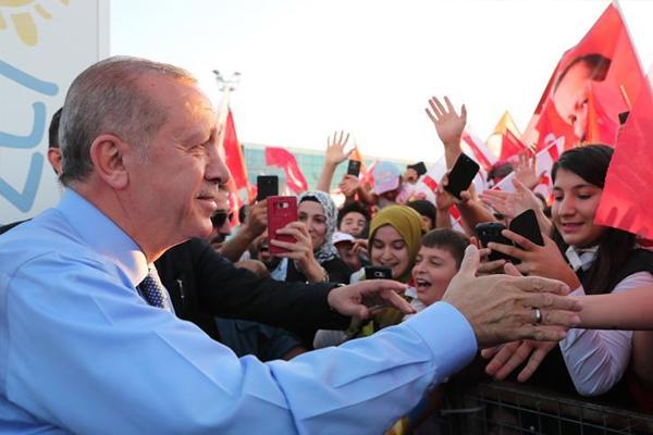 Türkiye Cumhurbaşkanı Erdoğan, KKTC'de
