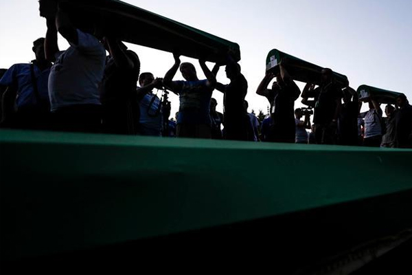 'Srebrenitsa insanlık vicdanına sürülmüş kara lekedir'