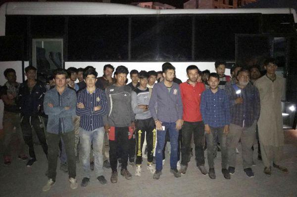 182 yabancı uyruklu şahıs yakalandı