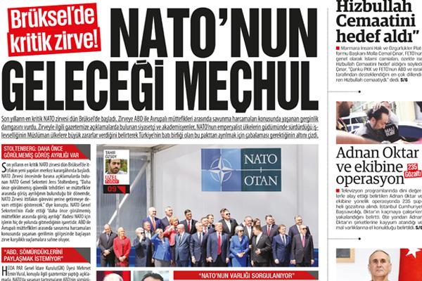Brüksel'de kritik zirve!  NATO'nun geleceği meçhul