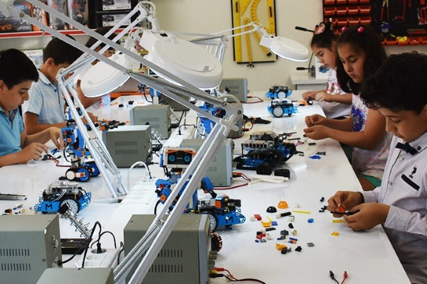 GASMEK'ten robotik kodlama kursu