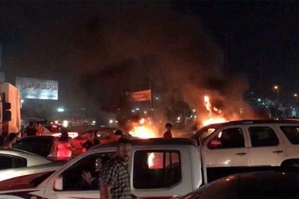 Irak`ın güneyindeki gösteriler başkente sıçradı
