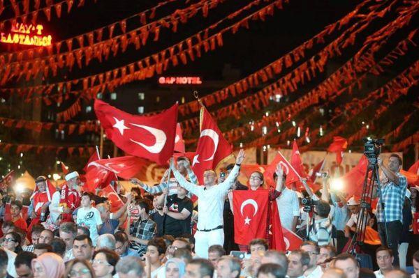 Gaziantep`te 15 Temmuz etkinliği düzenlendi