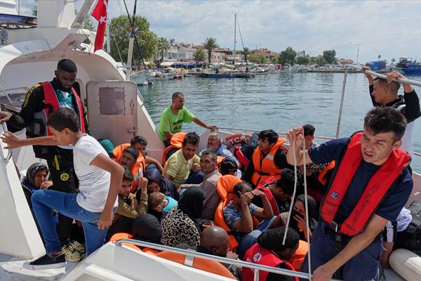 Çanakkale`de 91 yabancı uyruklu yakalandı