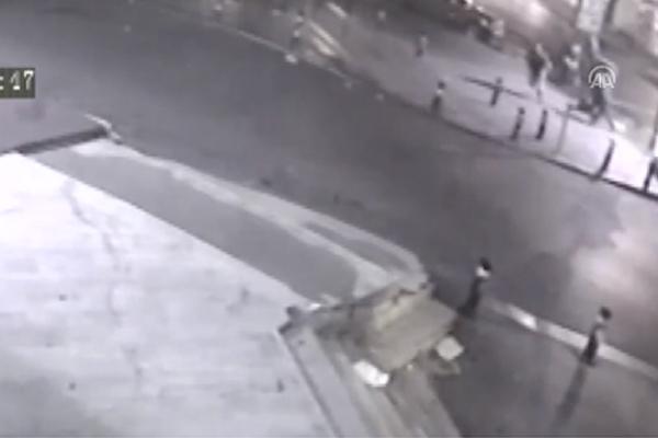 Fatih`teki silahlı saldırı güvenlik kamerasında