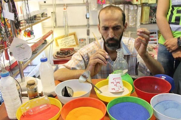 Suriyeli vatandaş sanatıyla dünyaya açılmak istiyor