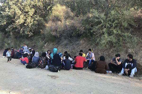 Çanakkale`de 40 yabancı uyruklu yakalandı