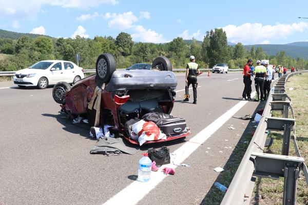 Otomobil ile tır çarpıştı: 1 ölü, 4 yaralı