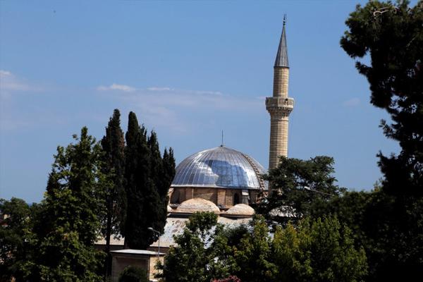 Rüstem Paşa Camii'ndeki restorasyon çalışmaları