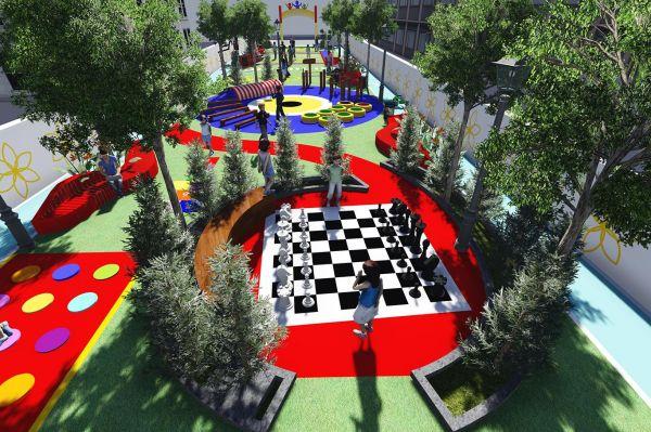 Van'da çocukların verimli vakit geçireceği oyun sokağı yapılıyor