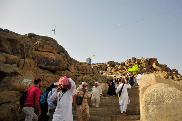 Arafat ve Mina`dan genel görüntüler