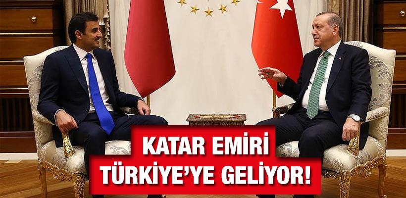 Katar Emiri Türkiye`ye geliyor!