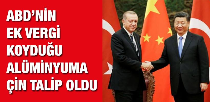 Çin Türkiye`den alüminyum ithal edecek