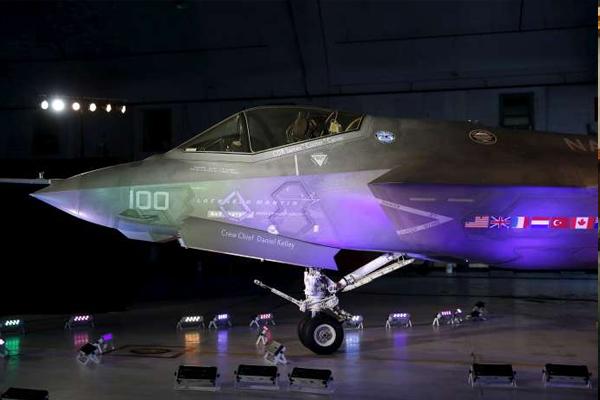 ABD F-35'lerin uçuşlarını durdurdu