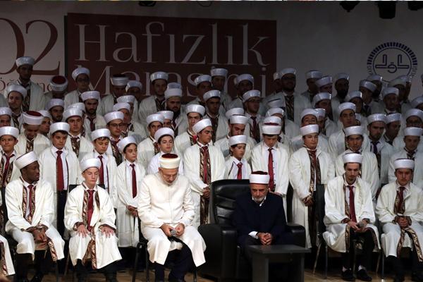Kayseri'de hafız öğrenciler için tören