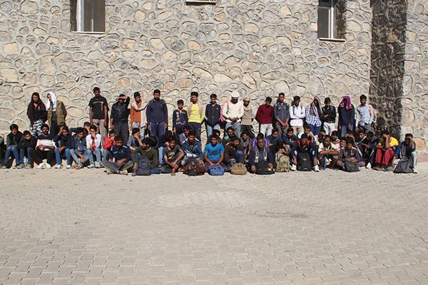 Van`da 118 düzensiz göçmen yakalandı