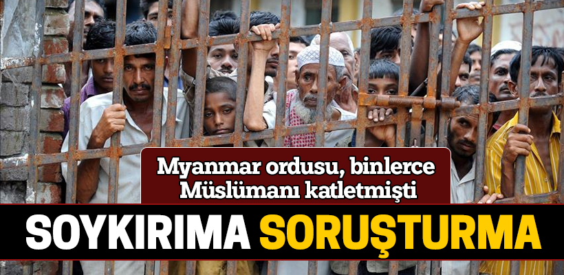 UCM`den Myanmar`ın işlediği suçlara ön inceleme
