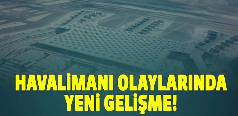 3. Havalimanı`nda eylem yapan işçilere tutuklama