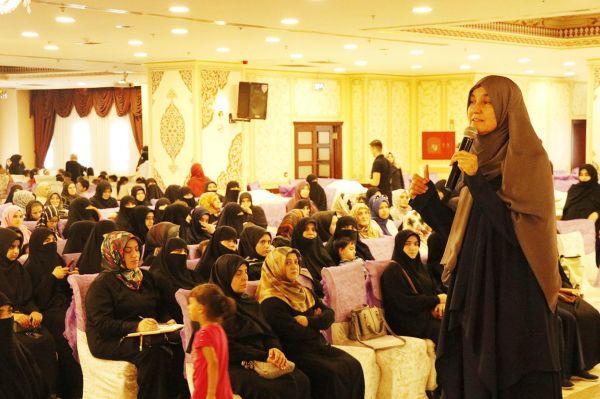 HÜDA PAR Kadın Kollarından Ailede Mahremiyet temalı bir seminer