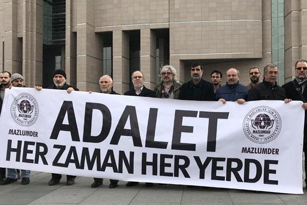 MAZLUMDER`den `28 Şubat mahkumları yeniden yargılansın` talebi