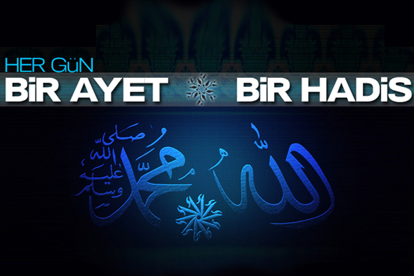 En güzel isimler Allah'ındır