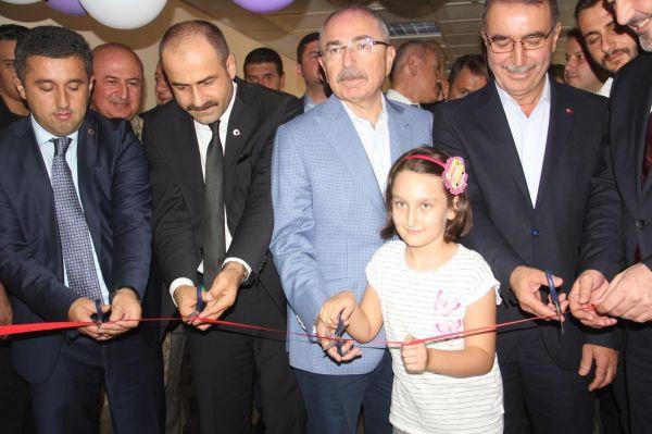 Midyat'ta ikinci çocuk servisi açıldı