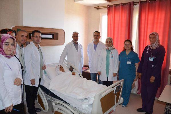 Şanlıurfa'da ilk defa mide kanseri ameliyatı gerçekleşti