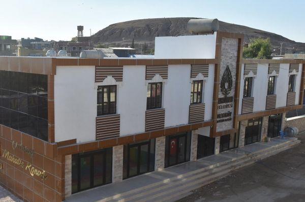 Ortaköy Mahalle Konağı hizmete açılıyor