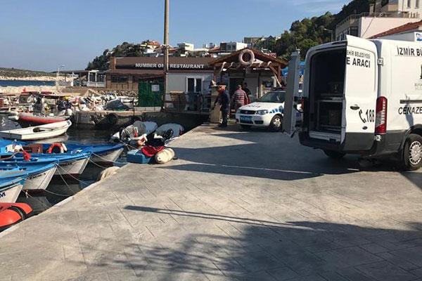 İzmir'de göçmenleri taşıyan tekne battı