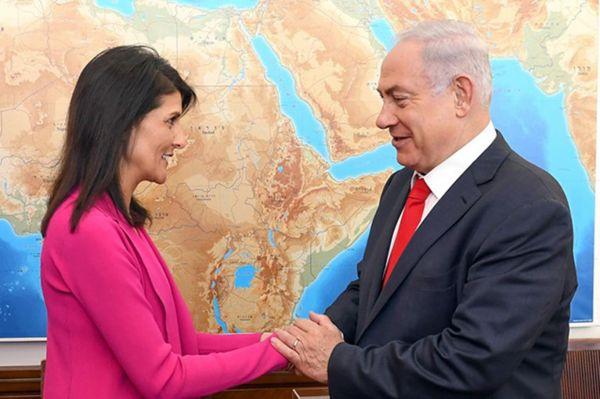 Siyonistler Nikki Haley'in istifasına üzüldü