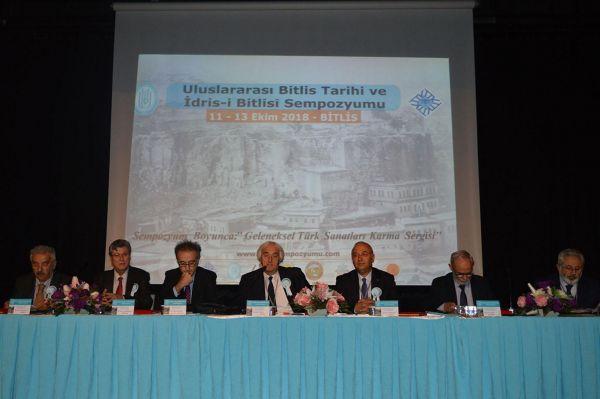 'Uluslararası Bitlis Tarihi ve İdris-i Bitlisi Sempozyumu' başladı