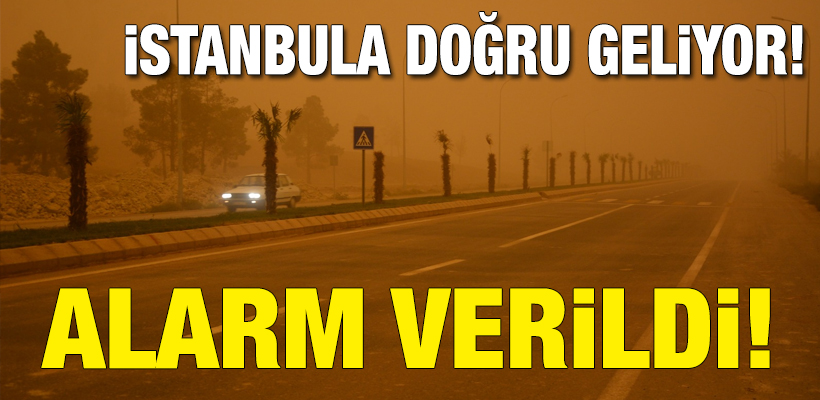 Meteoroloji`den Marmara için `toz bulutu` uyarısı