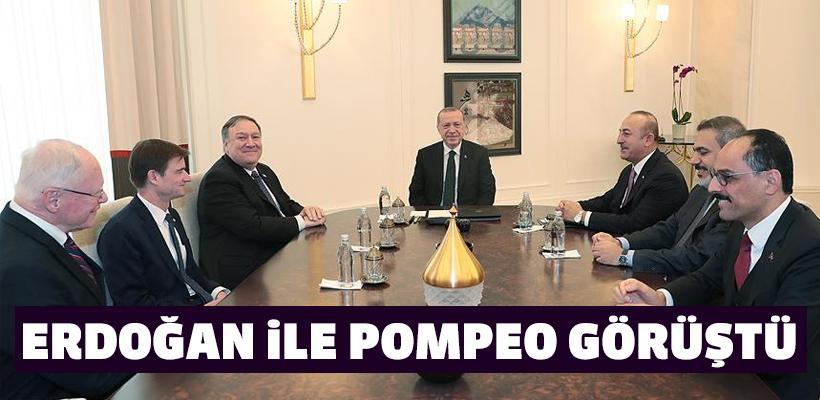 Erdoğan-Pompeo görüştü