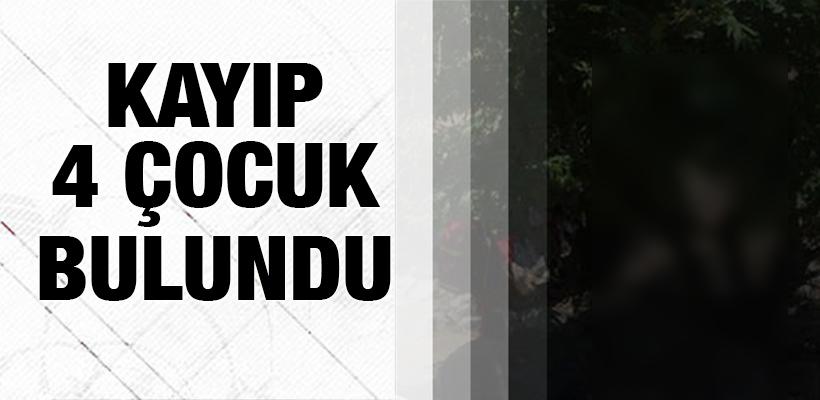 Bitlis`te kayıp 4 çocuk bulundu