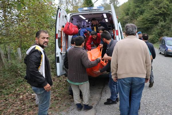 Zonguldak`ta bir kişi fındıklıkta ölü bulundu
