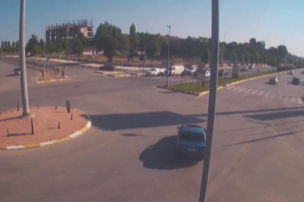 Drift yapan sürücüye 5 bin 10 lira ceza