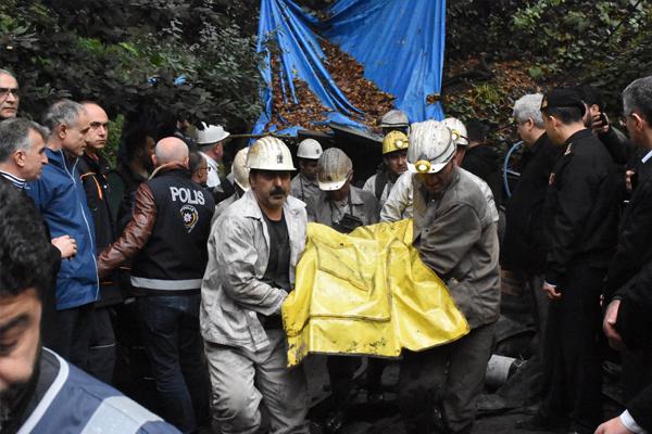3 işçinin cenazesine ulaşıldı