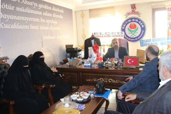 28 Şubat ve FETÖ Yargısı Mağdur Aileleri İnisiyatifi ziyaretlerine devam ediyor