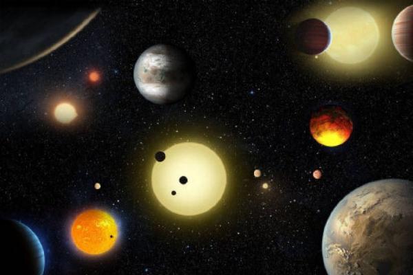 3 ayda 100'den fazla öte gezegen ortaya çıkarıldı