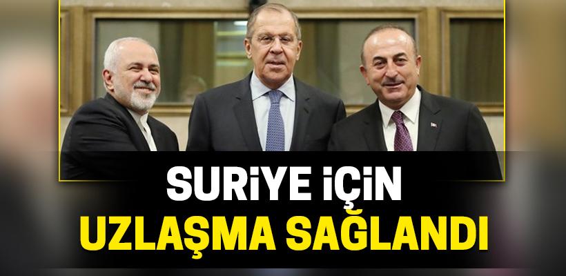 Suriye için uzlaşma sağlandı
