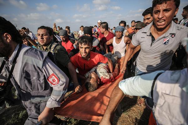 2018'de 312 Filistinli şehit oldu