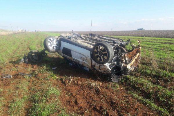 Otomobil takla attı: Bir yaralı